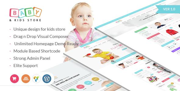 eCommerce Woocommerce WordPress Theme